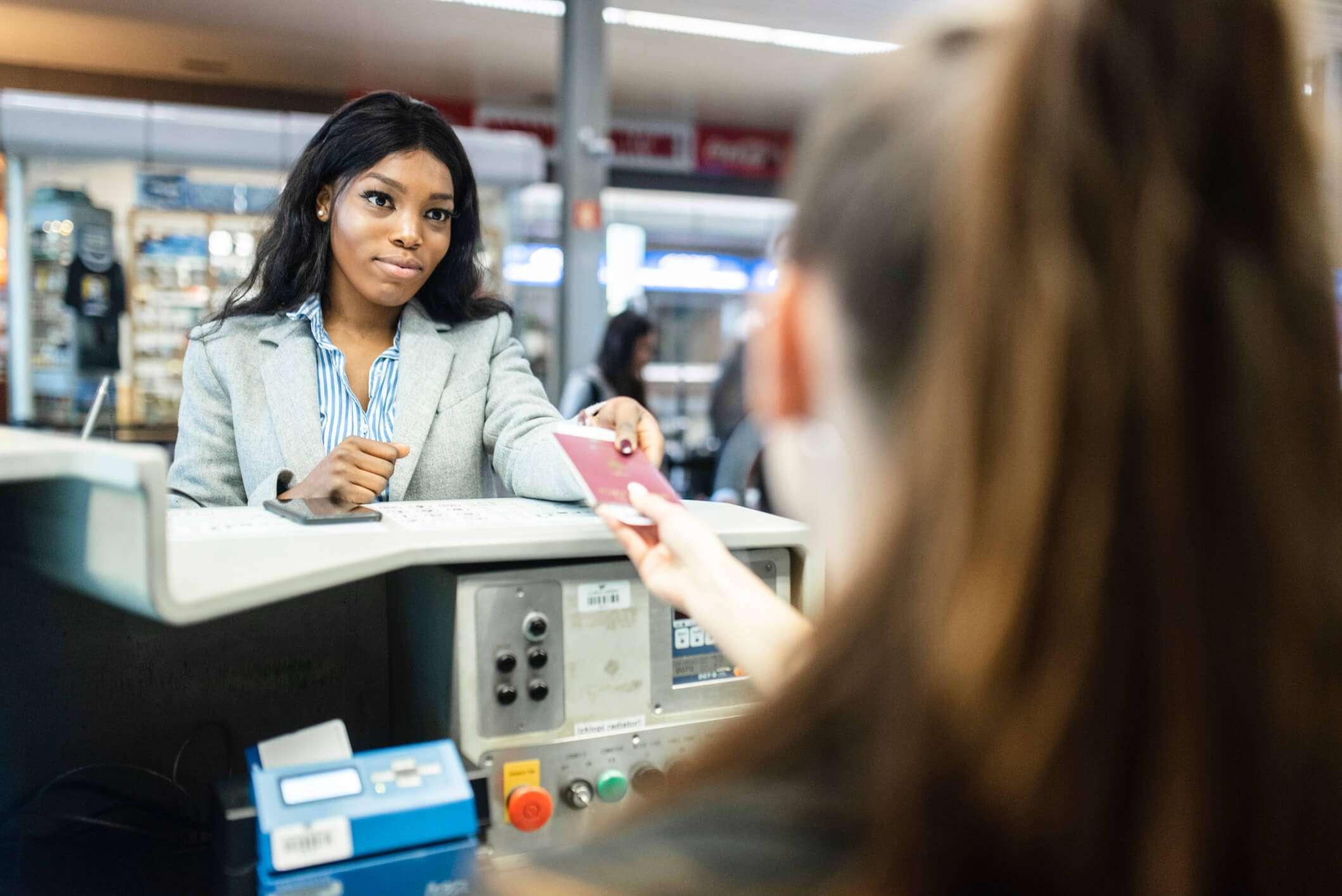 Qual é o processo de imigração adotado nos aeroportos do EUA?
